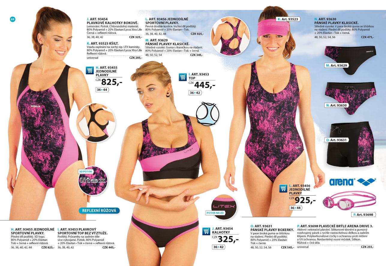 c5689973d Sportovní plavky 2017 [strana 69] - katalog | LITEX