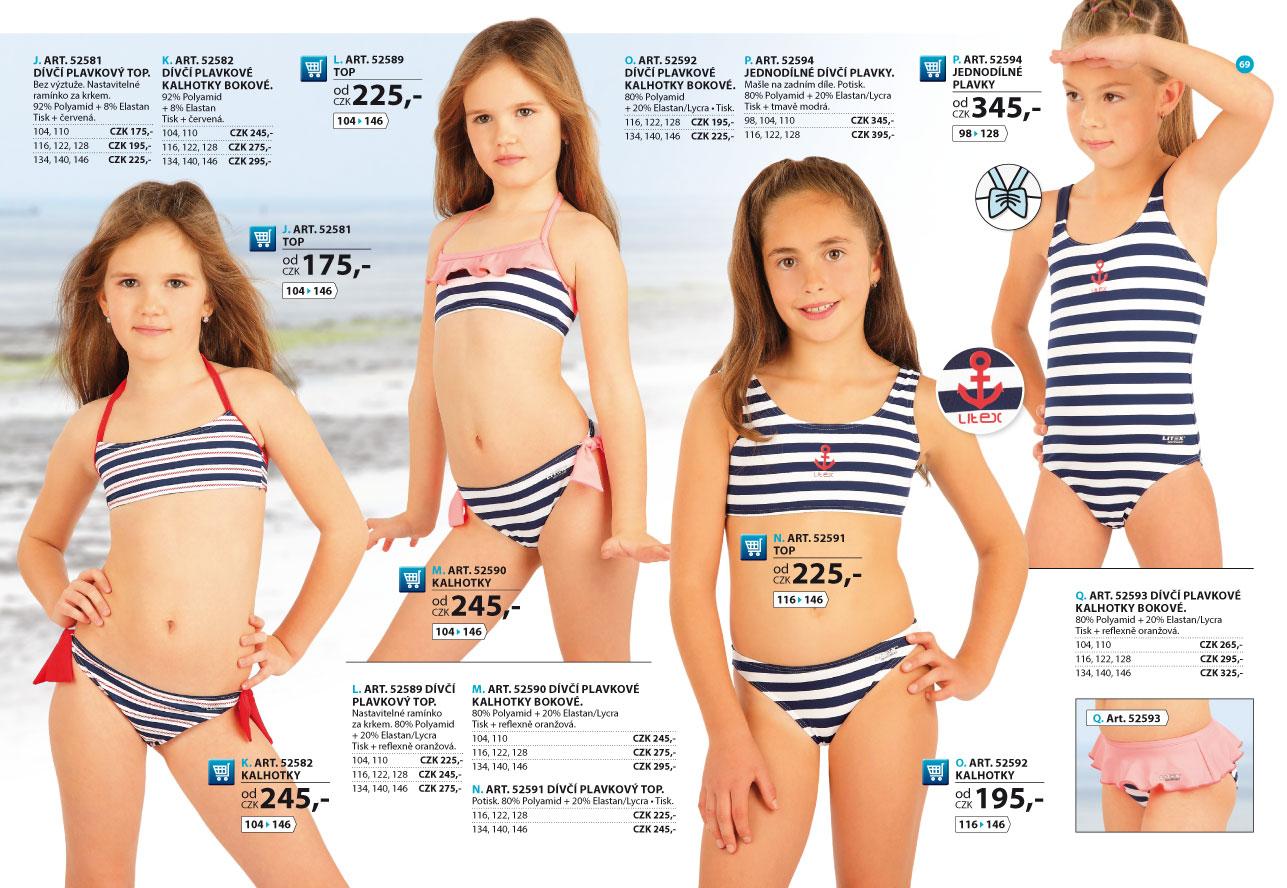 abf9ba52c Dívčí plavky 2018 [strana 69] - katalog | LITEX