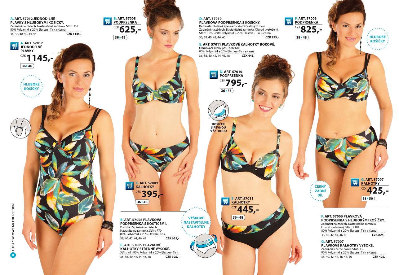 99b569f7b Dámské plavky 2019 [strana 8] - katalog | LITEX