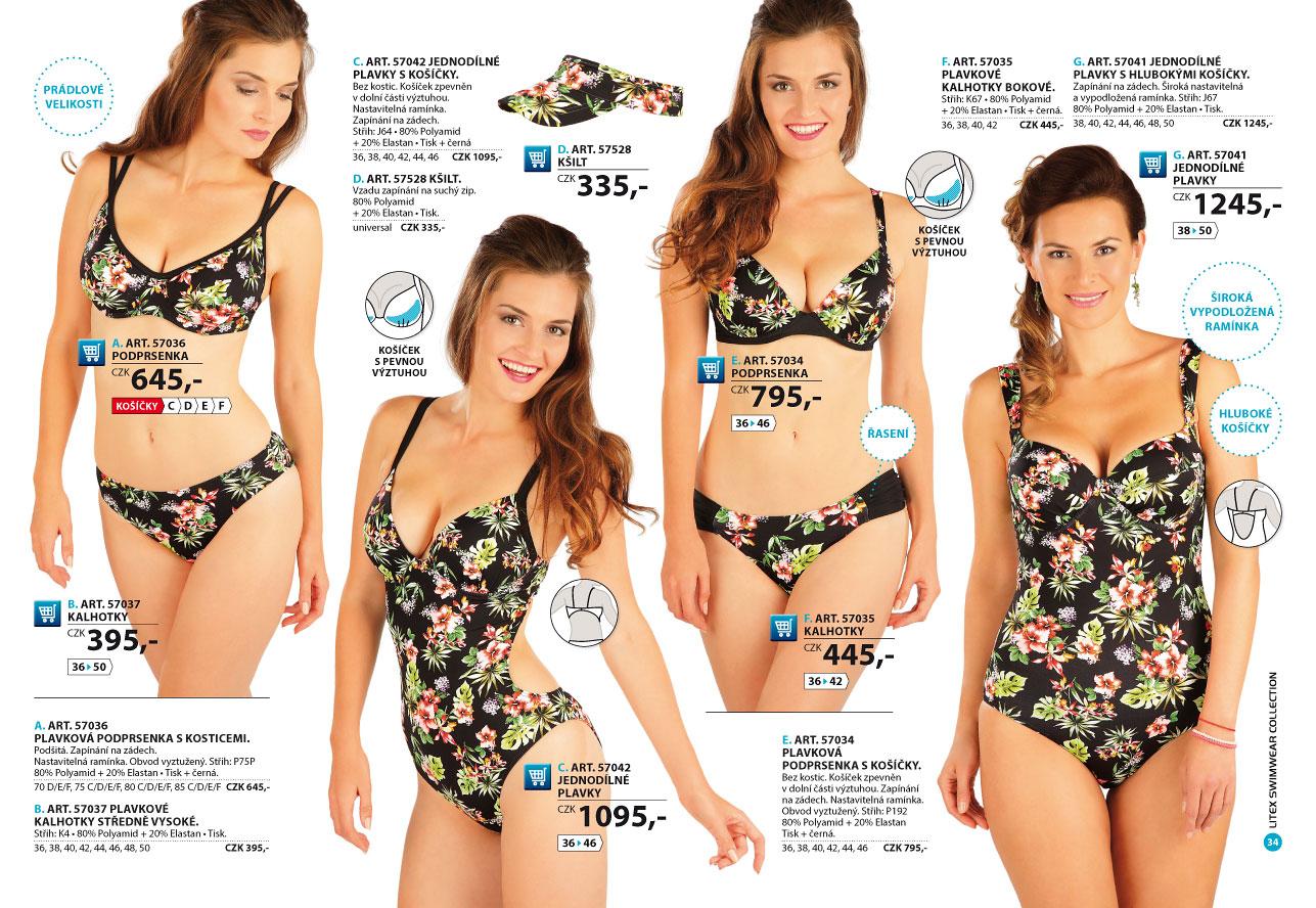 Dámské plavky 2019  strana 34  - katalog LITEX 863b63f566