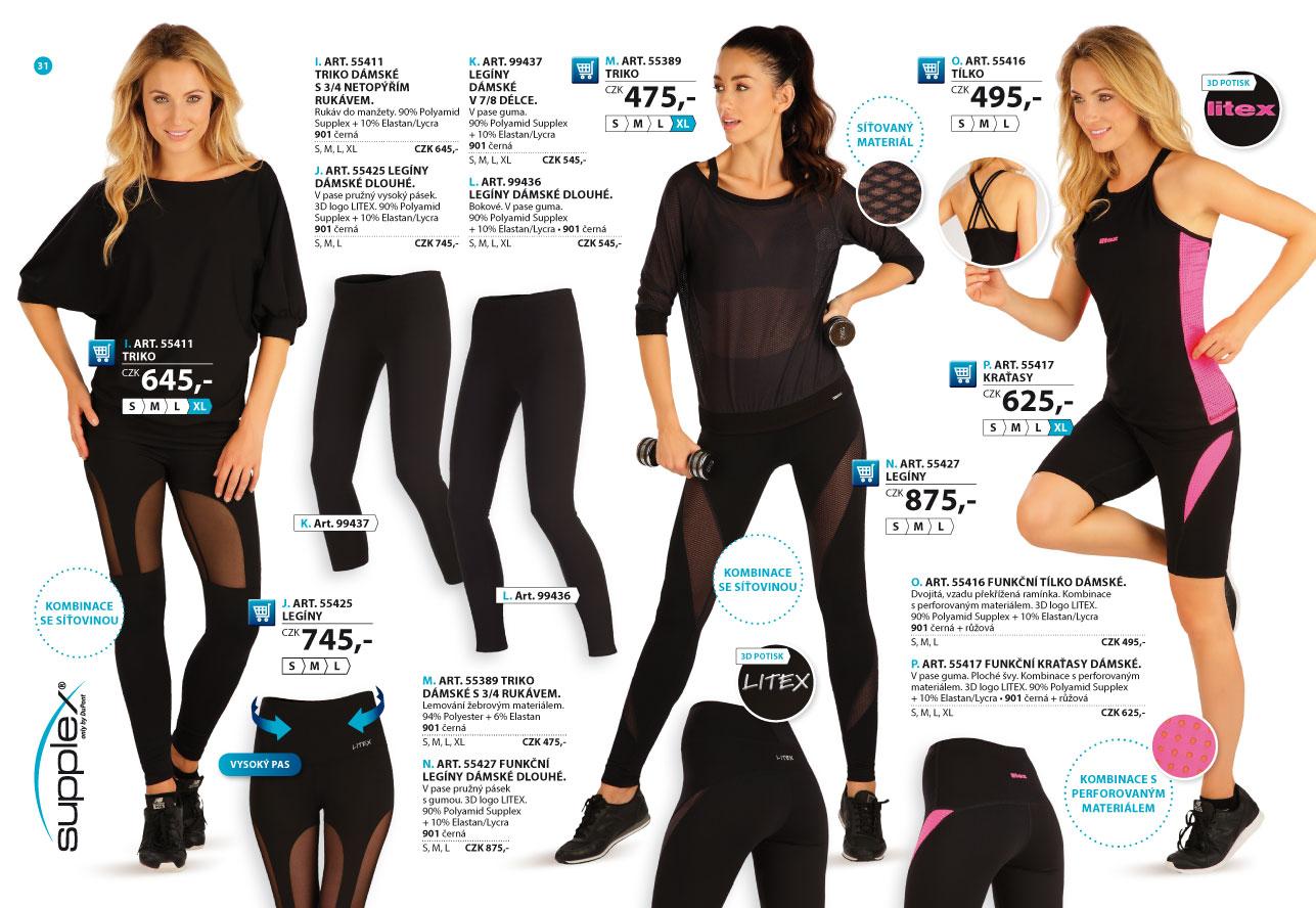 Sportovní oblečení 2018-2019  strana 31  - katalog LITEX a09d17213c