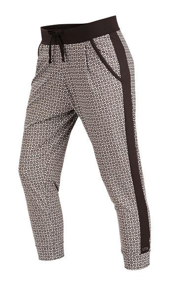 Kalhoty dámské 7/8 s nízkým sedem.