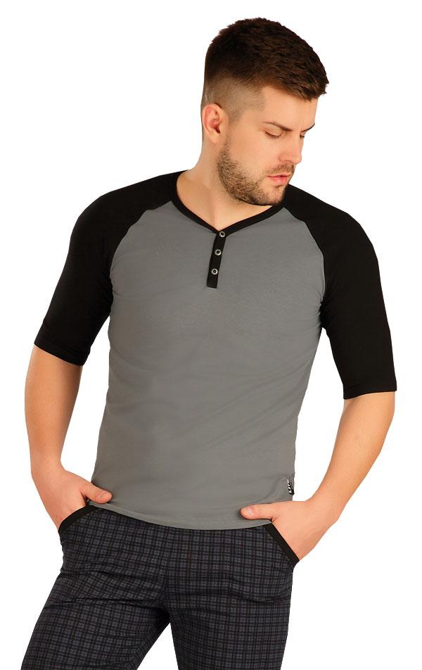Triko pánské s 3/4 rukávem. 50236 | Pánské oblečení LITEX
