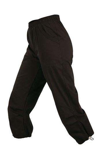 Kalhoty dámské v 7/8 délce do pasu.