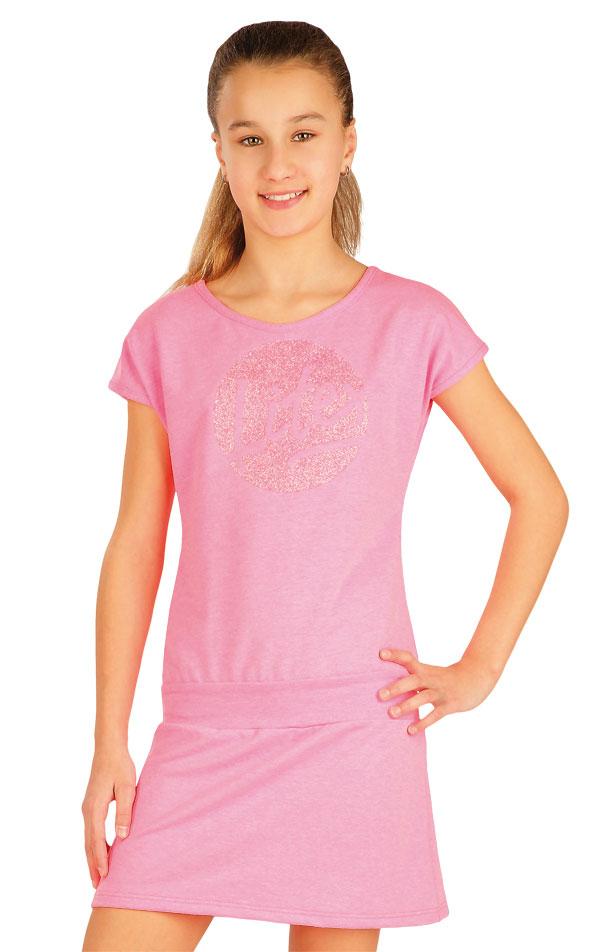 Šaty dětské se spadlým rukávem. 50472 | Dětské oblečení LITEX