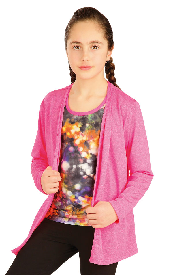 Cardigan dětský s dlouhým rukávem. 50474 | Dětské oblečení LITEX