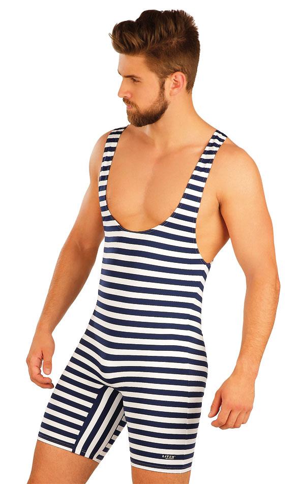 Pánské retro plavky s kšandami. 50500 | Pánské plavky LITEX