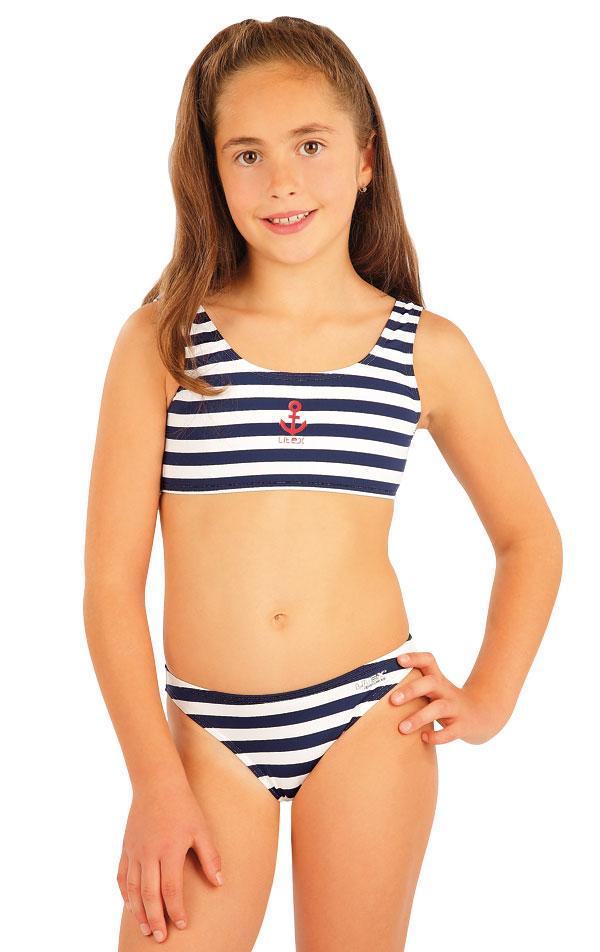 Dívčí plavky kalhotky bokové. 50503 | Dívčí plavky LITEX