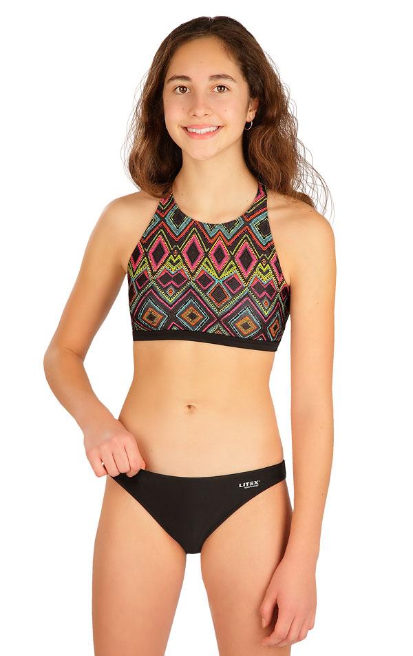 Dívčí plavky kalhotky bokové. 50588 | Dívčí plavky LITEX