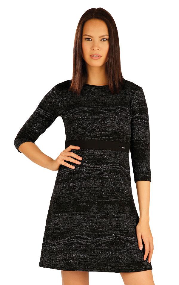Šaty dámské s 3/4 rukávem. 51007 | Šaty a sukně LITEX