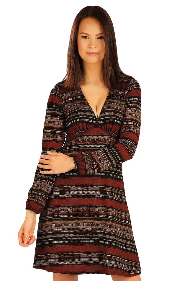 Šaty dámské s dlouhým rukávem. 51019 | Šaty a sukně LITEX