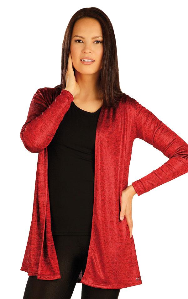 Cardigan dámský s dlouhým rukávem. 51044 | Sportovní oblečení LITEX
