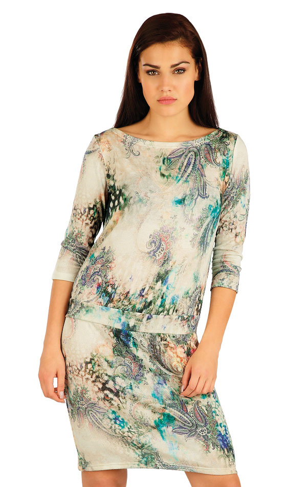 Šaty dámské s 3/4 rukávem. 51058 | Sportovní oblečení LITEX