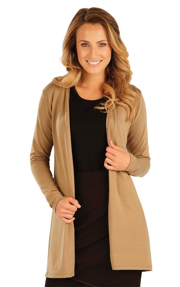 Cardigan dámský s dlouhým rukávem. 51073 | Sportovní oblečení LITEX