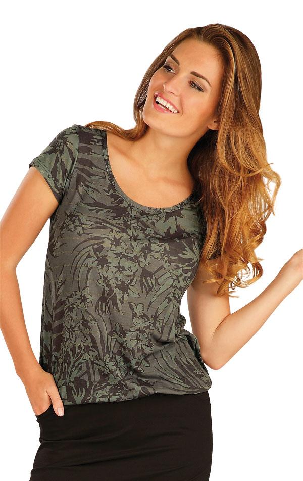 Triko dámské s krátkým rukávem. 51094 | Sportovní oblečení LITEX