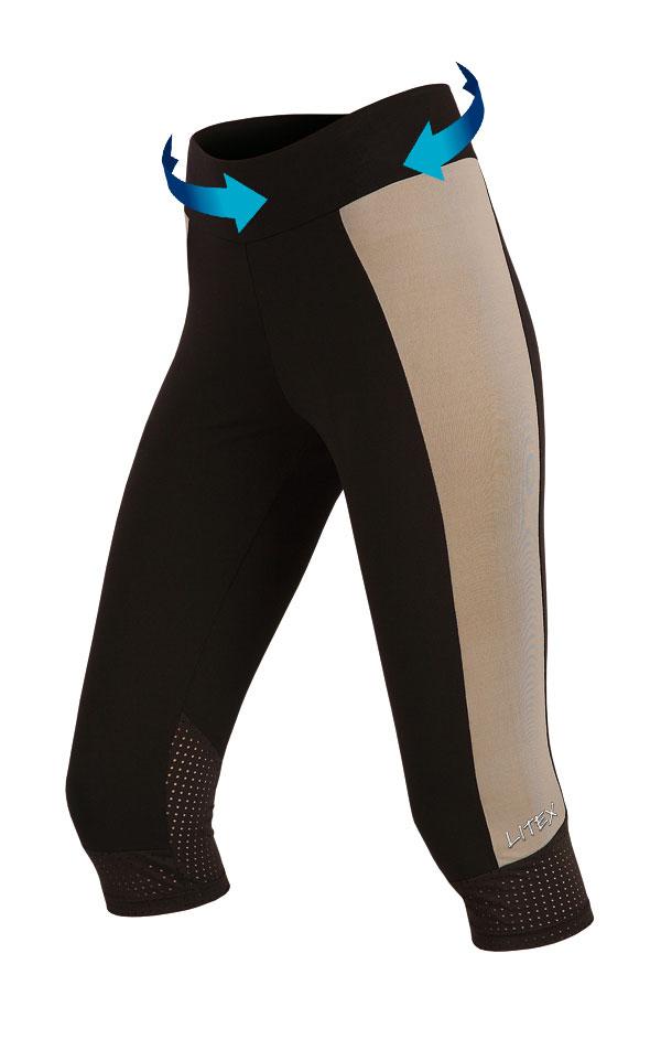 Legíny dámské sportovní v 3/4 délce. 51180 | Sportovní oblečení LITEX