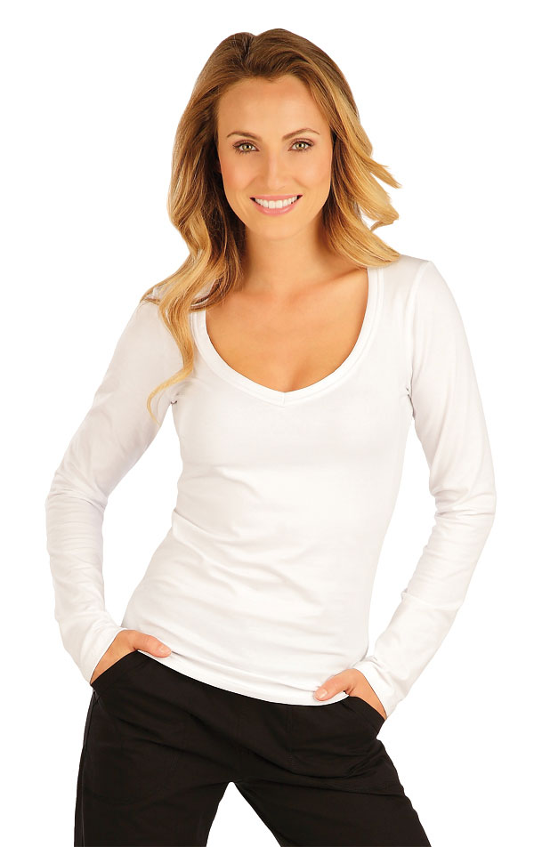 Triko dámské s dlouhým rukávem. 51219 | Sportovní oblečení LITEX