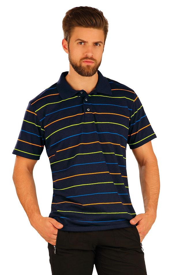 Polo triko pánské s krátkým rukávem. 51234 | Pánské oblečení LITEX