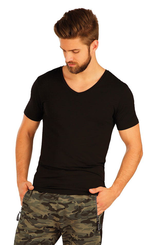 Triko pánské s krátkým rukávem. 51237 | Sportovní oblečení LITEX