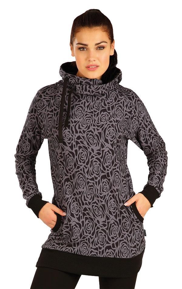 Mikina dámská s kapucí. 51272 | Sportovní oblečení LITEX