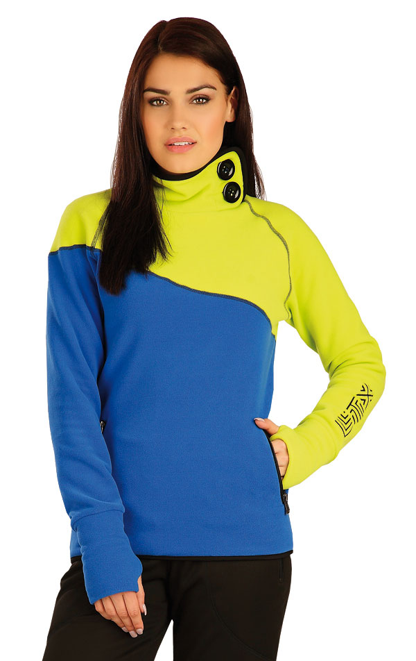 Mikina dámská se stojákem. 51322 | Sportovní oblečení LITEX