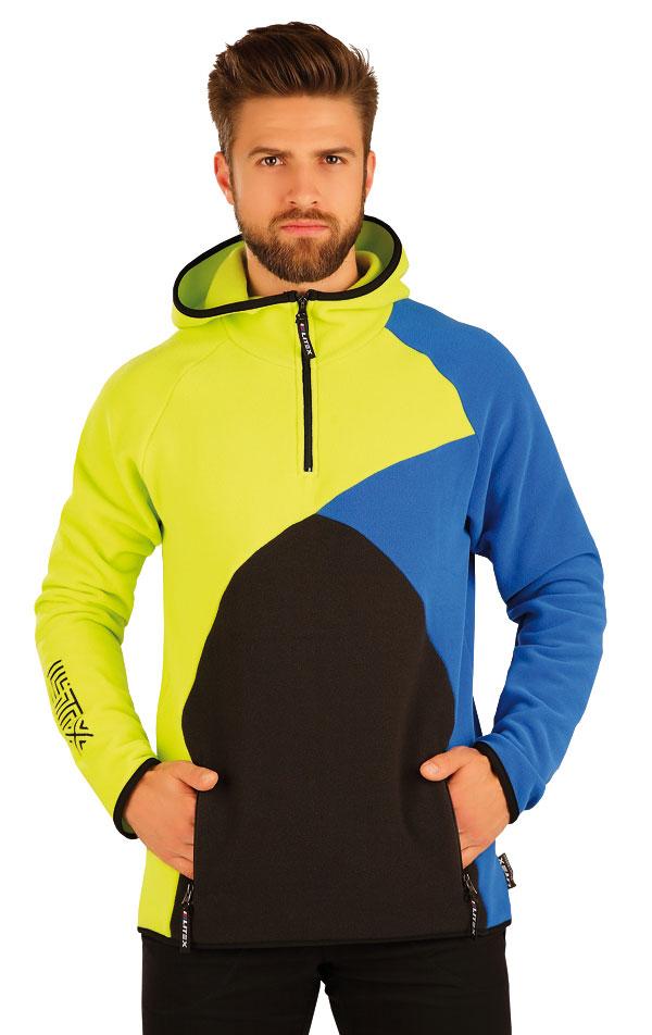 Mikina pánská s kapucí. 51332 | Sportovní oblečení LITEX