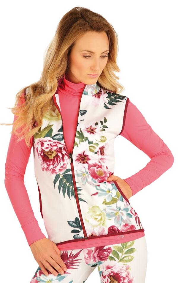 Vesta dámská se stojákem. 51352 | Sportovní oblečení LITEX