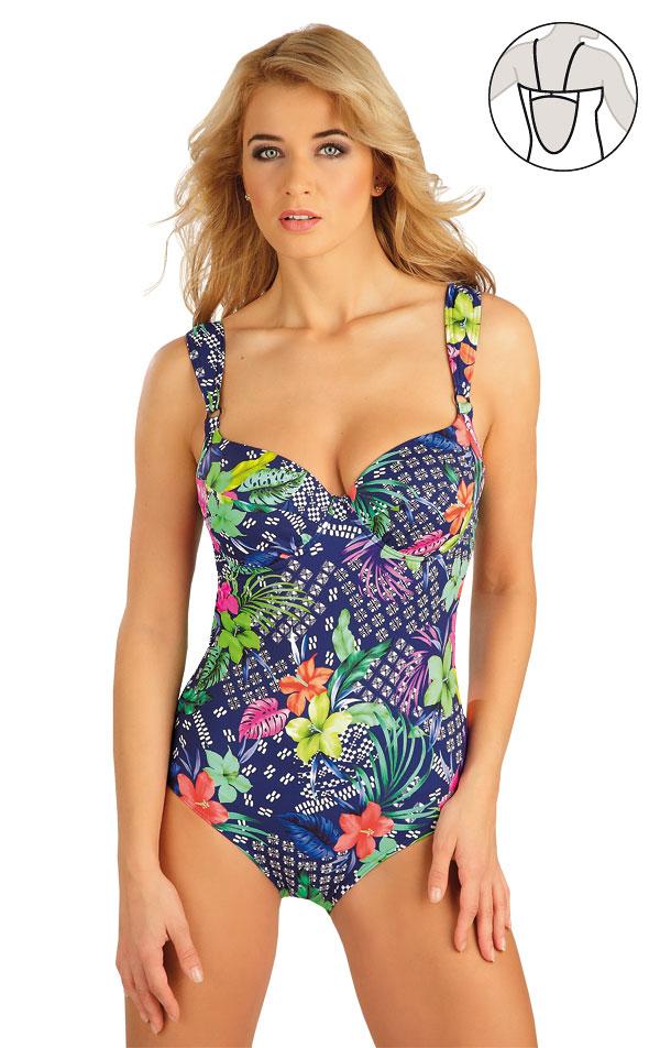 Jednodílné plavky s hlubokými košíčky. 52126 | Jednodílné plavky LITEX