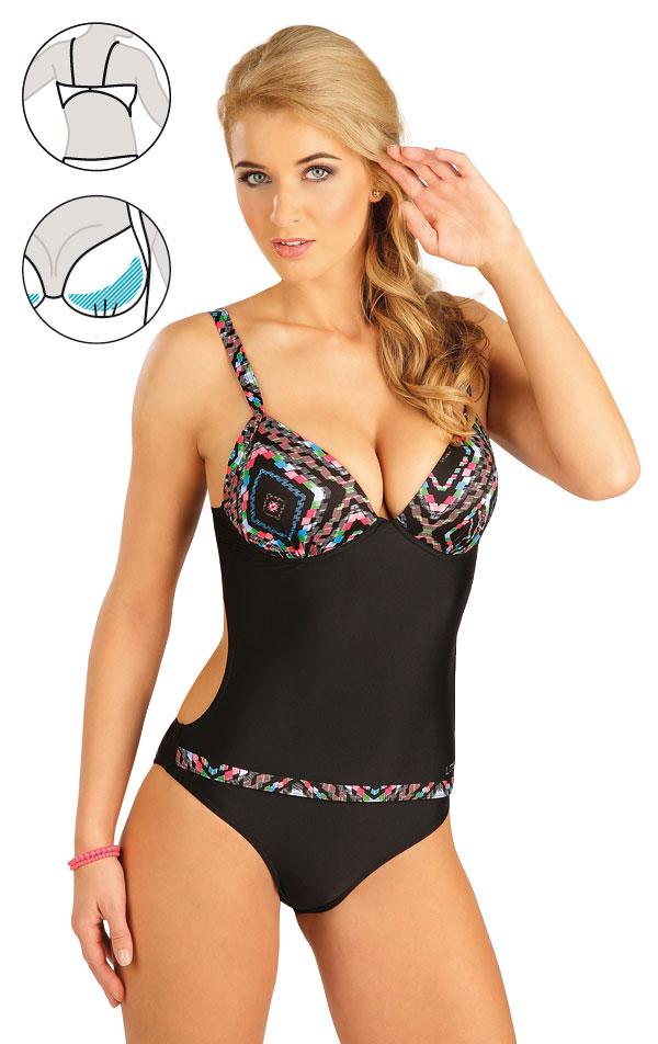 Jednodílné plavky s košíčky. 52246 | Jednodílné plavky LITEX
