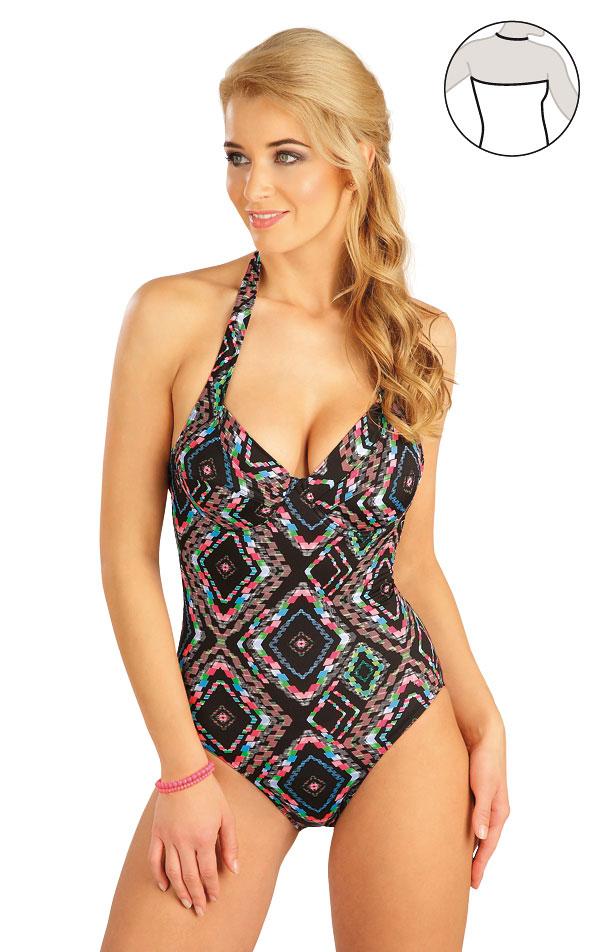 Jednodílné plavky s kosticemi. 52247 | Jednodílné plavky LITEX