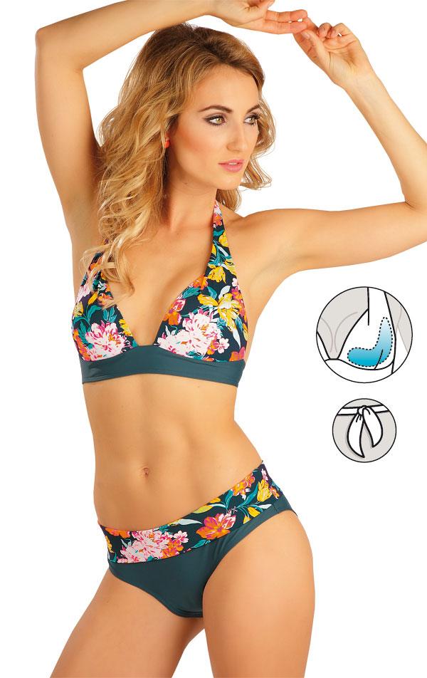 Plavky podprsenka s košíčky push-up. 52268 | Dvoudílné plavky LITEX