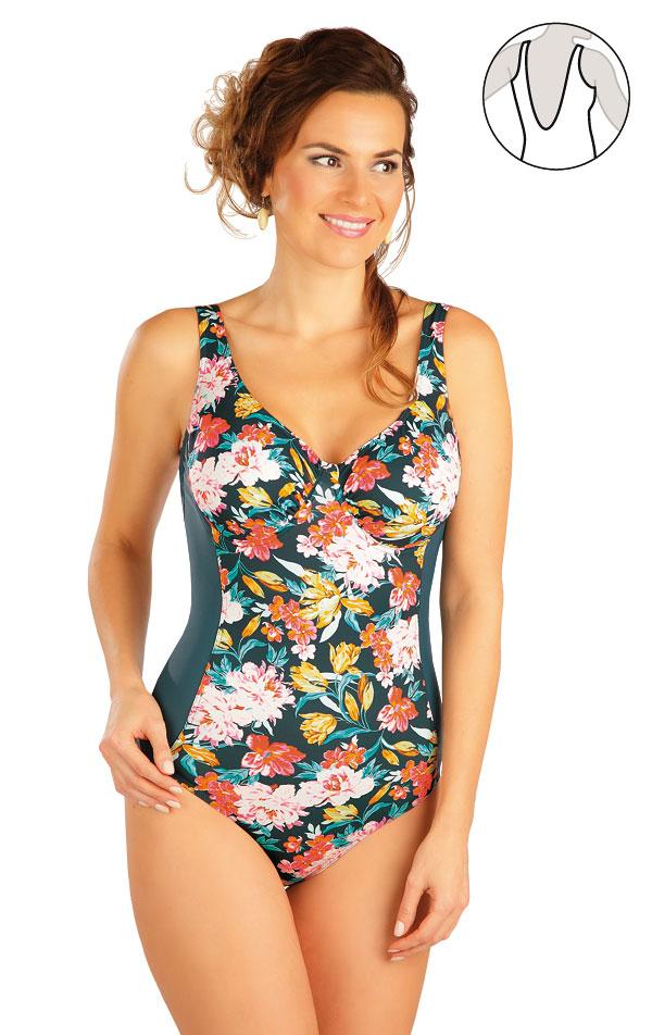 Jednodílné plavky s kosticemi. 52277 | Jednodílné plavky LITEX