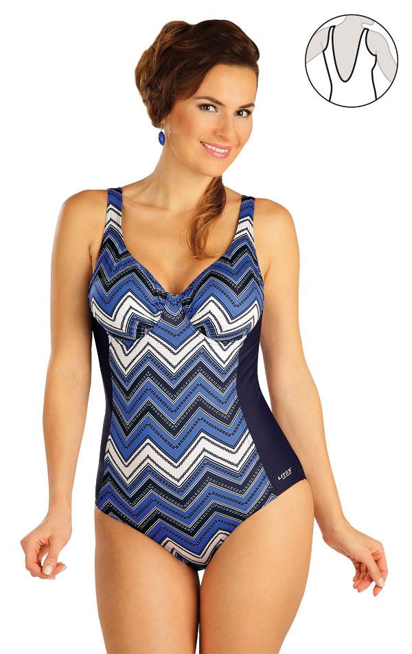 Jednodílné plavky s kosticemi. 52406 | Jednodílné plavky LITEX