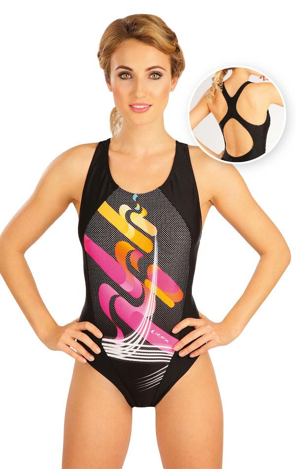 Jednodílné sportovní plavky. 52498 | Sportovní plavky LITEX