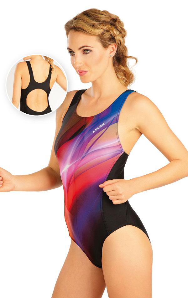 Jednodílné sportovní plavky. 52505 | Sportovní plavky LITEX