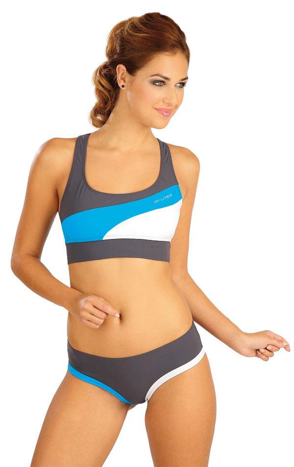 Plavky sportovní top bez výztuže. 52509 | Sportovní plavky LITEX