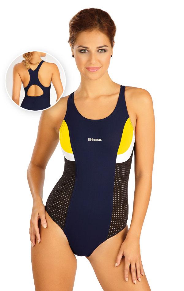 Jednodílné sportovní plavky. 52512 | Sportovní plavky LITEX