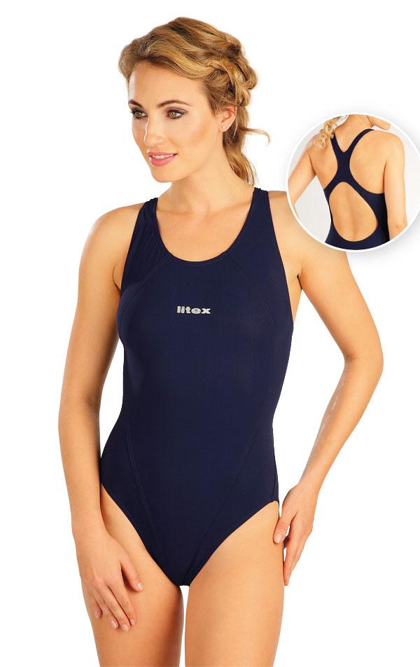Jednodílné sportovní plavky. 52513 | Sportovní plavky LITEX