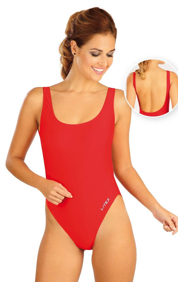 Jednodílné sportovní plavky. 52515 | Sportovní plavky LITEX
