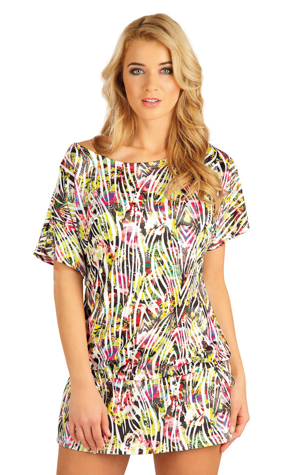 Tunika s krátkým rukávem. 52533 | Šaty a sukně LITEX