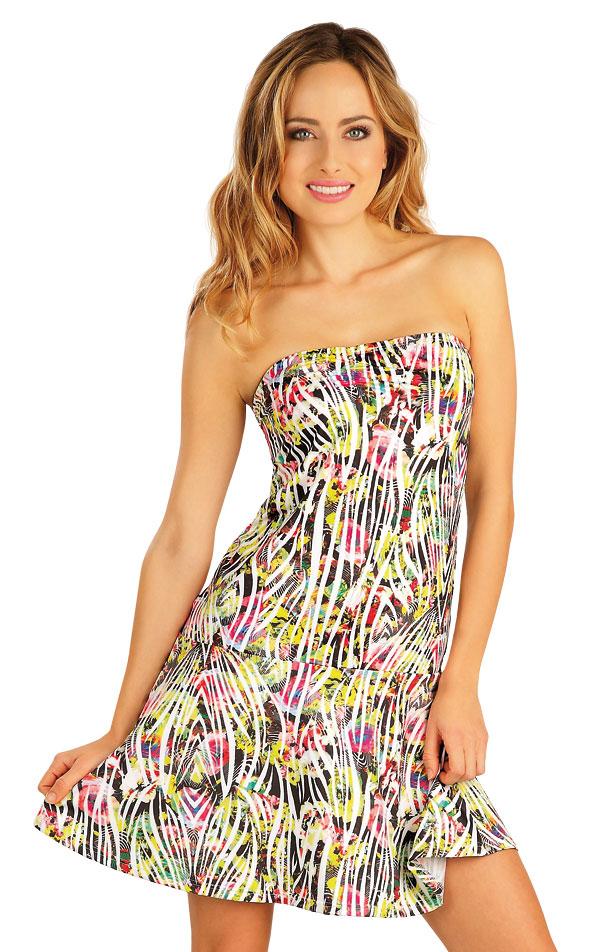 Šaty dámské bez ramínek. 52534 | Šaty a sukně LITEX
