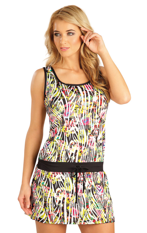 Šaty dámské bez rukávu. 52536   Šaty a sukně LITEX