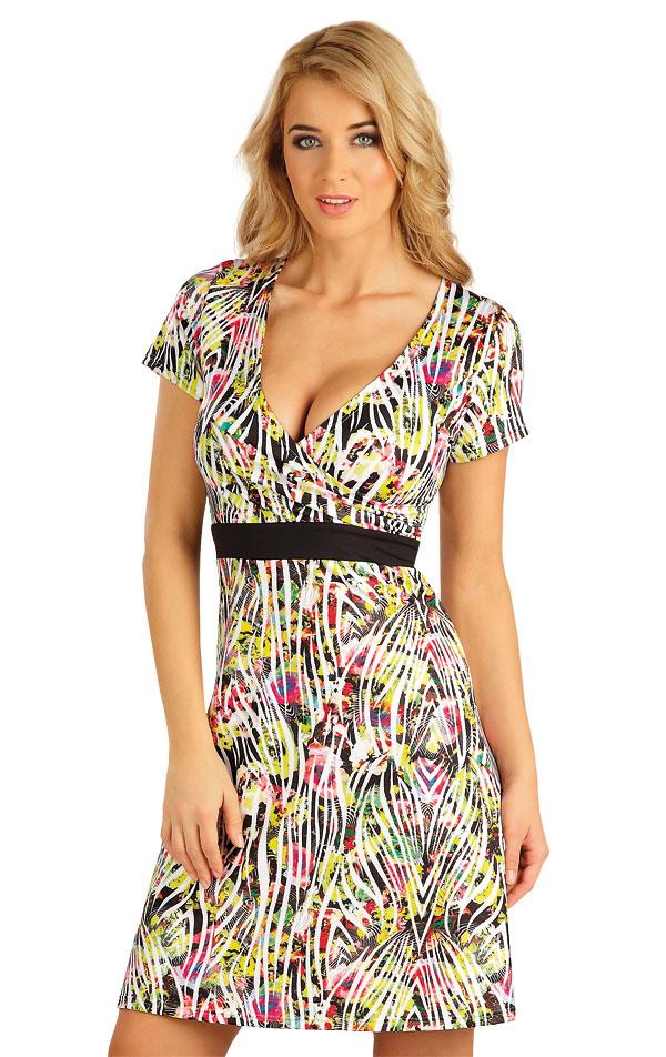 Šaty dámské s krátkým rukávem. 52537 | Šaty a sukně LITEX