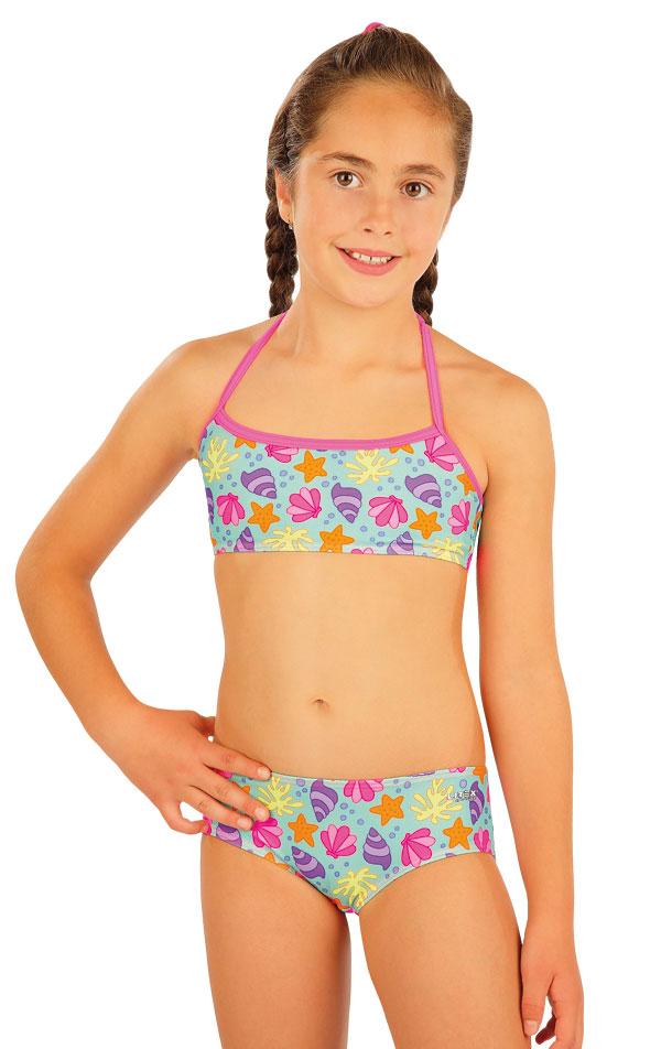 Dívčí plavky kalhotky bokové. 52565 | Dívčí plavky LITEX