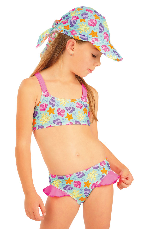 Dívčí plavky kalhotky bokové. 52567 | Dívčí plavky LITEX