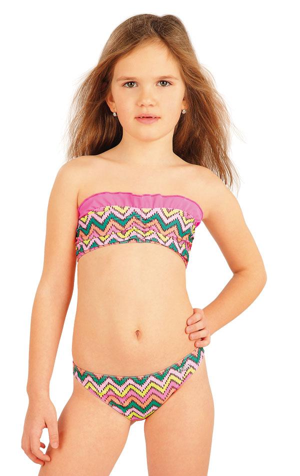 Dívčí plavky kalhotky bokové. 52573 | Dívčí plavky LITEX
