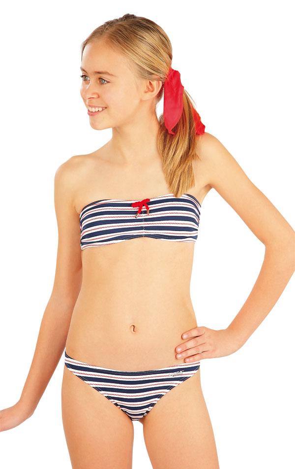 Dívčí plavky podprsenka BANDEAU. 52583   Dívčí plavky LITEX