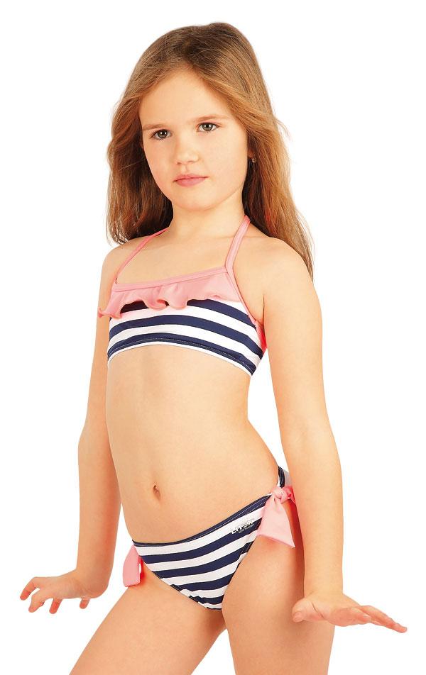 Dívčí plavky kalhotky bokové. 52590 | Dívčí plavky LITEX