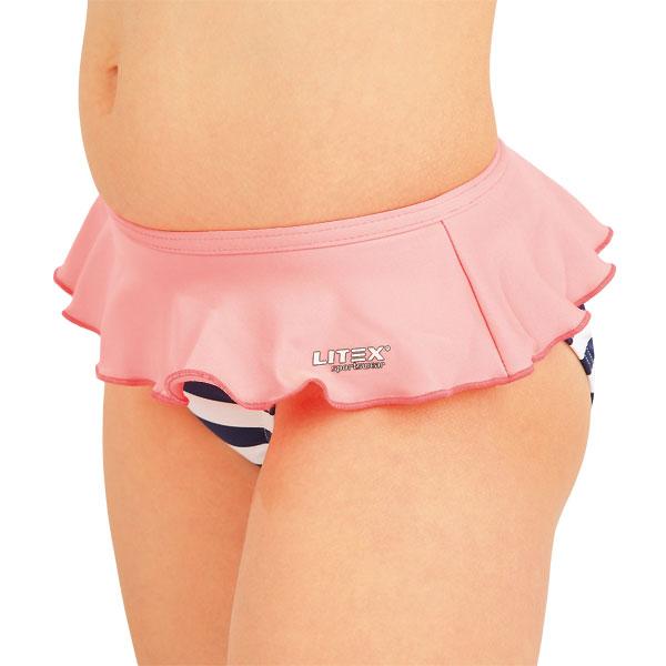 Dívčí plavky kalhotky bokové. 52593 | Dívčí plavky LITEX