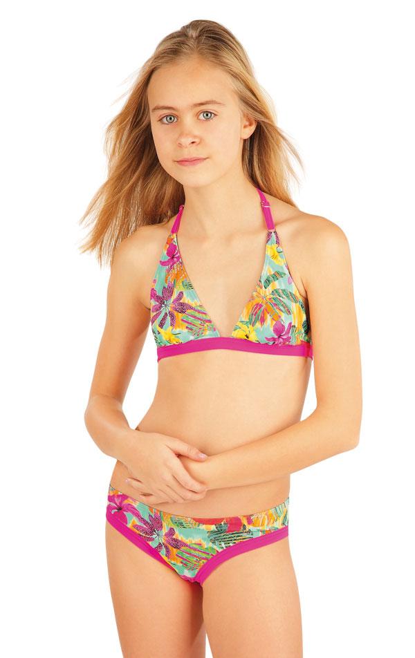 Dívčí plavky kalhotky bokové. 52600 | Dívčí plavky LITEX